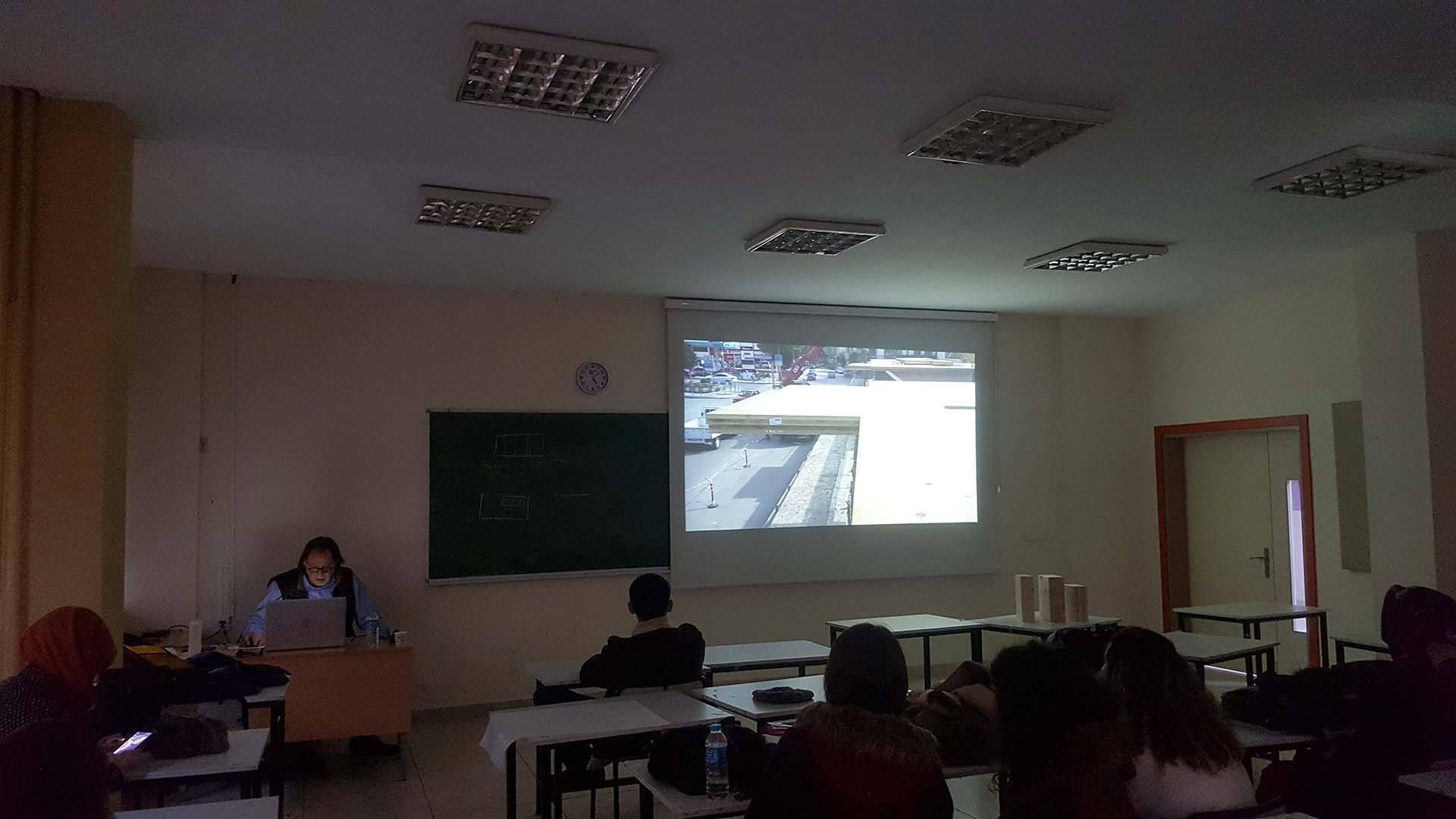 Kocaeli Üniversitesi Mimarlık Fakültesi - Seminer